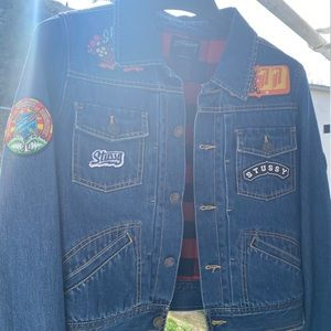 Stussy jean jacket